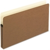 "Pendaflex Expanding File Pocket - Legal - 8 1/2"" x 14"" Sheet Size - 3 1/2"" Expansion - Manila, Red Fiber - Recycled"