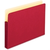 "Pendaflex Colored Expanding File Pocket - 3 1/2"" Folder Capacity - Legal - 8 1/2"" x 14"" Sheet Size - 3 1/2"" Expansion - Manila - Red - 1 Each"
