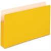 "Pendaflex Colored Expanding File Pocket - Legal - 8 1/2"" x 14"" Sheet Size - 3 1/2"" Expansion - Manila - Yellow - 1 Each"