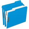 "Pendaflex Fastener Folder - Letter - 8 1/2"" x 11"" Sheet Size - 2"" Expansion - 2 Fastener(s) - 2"" Fastener Capacity for Folder - 1/3 Tab Cut - Assorted Position Tab Location - Blue - 50 / Box"