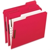 "Pendaflex Fastener Folder - Letter - 8 1/2"" x 11"" Sheet Size - 2"" Expansion - 2 Fastener(s) - 2"" Fastener Capacity for Folder - 1/3 Tab Cut - Assorted Position Tab Location - Red - 50 / Box"