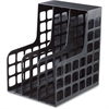 Pendaflex Decorack Shelf File - 2 Divider(s) - Black - Plastic - 1 Each