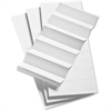 Pendaflex 1/3 Cut Hanging File Folder Label Inserts - Blank Tab(s) - 3 Tab(s)/Set - White Tab(s)