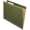 "Pendaflex Reinforced Hanging Folder - Letter - 8 1/2"" x 11"" Sheet Size - 1/3 Tab Cut - Assorted Position Tab Location - Standard Green - 25 / Box"
