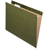 "Pendaflex Reinforced Hanging Folder - Letter - 8 1/2"" x 11"" Sheet Size - Internal Pocket(s) - 1/5 Tab Cut - Standard Green - 25 / Box"