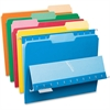 "Pendaflex Interior File Folder - Letter - 8 1/2"" x 11"" Sheet Size - 1/3 Tab Cut - Assorted Position Tab Location - Assorted - 100 / Box"