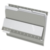 "Pendaflex Interior Folder - Letter - 8 1/2"" x 11"" Sheet Size - 1/3 Tab Cut - Gray - 100 / Box"