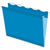 "Pendaflex Ready-Tab Reinforced Hanging Folder with Lift Tab - Letter - 8 1/2"" x 11"" Sheet Size - 1/5 Tab Cut - Blue - 25 / Box"