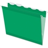 "Pendaflex Ready-Tab Extra Capacity Reinforced Hanging Folder with Lift Tab - Letter - 8 1/2"" x 11"" Sheet Size - 1/5 Tab Cut - Bright Green - 25 / Box"