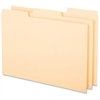 "Oxford 1/3-cut Blank Tab Index Card Guide - Blank Tab(s) - 5"" Divider Width x 8"" Divider Length - Buff Divider - 100 / Box"