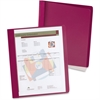 "Extra-Wide Report Cover - Letter - 8 1/2"" x 11"" Sheet Size - 100 Sheet Capacity - 3 Fastener(s) - 1/2"" Fastener Capacity for Folder - Clear - 25 / Box"