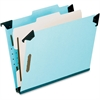 "Pendaflex Hanging Classification Folder - Legal - 8 1/2"" x 14"" Sheet Size - 2"" Expansion - 2 3/4"" Fastener Capacity for Folder - 1 Divider(s) - 25 pt. Folder Thickness - Pressboard - Blue - 1 Each"