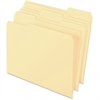 "Pendaflex Archival Quality File Folder - Letter - 8 1/2"" x 11"" Sheet Size - 1/3 Tab Cut - Assorted Position Tab Location - 11 pt. Folder Thickness - Manila - Manila - 100 / Box"