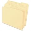 "Pendaflex Archival Quality File Folder - Letter - 8 1/2"" x 11"" Sheet Size - 1/3 Tab Cut - Assorted Position Tab Location - 11 pt. Folder Thickness - Manila - Manila - 100 / Box"