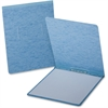 "Report Cover with Reinforced Top Hinge - Letter - 8 1/2"" x 11"" Sheet Size - Prong Fastener - 2"" Fastener Capacity for Folder - 20 pt. Folder Thickness - Pressguard - Light Blue - 1 Each"