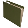 "Pendaflex 100% Recycled Paper Hanging Folders - Letter - 8 1/2"" x 11"" Sheet Size - 1/5 Tab Cut - Green - 25 / Box"