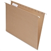 """Pendaflex 100% Recycled Paper Hanging Folders - Letter - 8 1/2"""" x 11"""" Sheet Size - 1/5 Tab Cut - Natural - 25 / Box"""