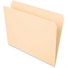 "Pendaflex Essentials File Folder - Letter - 8 1/2"" x 11"" Sheet Size - 3/4"" Expansion - 11 pt. Folder Thickness - Manila - Manila - 100 / Box"