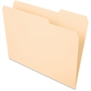 "Pendaflex Essentials File Folder - Letter - 8 1/2"" x 11"" Sheet Size - 3/4"" Expansion - 1/3 Tab Cut - Right Tab Location - 11 pt. Folder Thickness - Manila - Manila - 100 / Box"