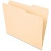 "Pendaflex Essentials File Folder - Letter - 8 1/2"" x 11"" Sheet Size - 3/4"" Expansion - 2/5 Tab Cut - Right Tab Location - 11 pt. Folder Thickness - Manila - Manila - 100 / Box"