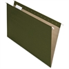 "Pendaflex 100% Recycled Paper Hanging Folders - Legal - 8 1/2"" x 14"" Sheet Size - 1/2"" Expansion - 1/5 Tab Cut - Green - 25 / Box"