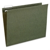 "Pendaflex Essentials Standard Green Hanging Folders - Letter - 8 1/2"" x 11"" Sheet Size - 1/5 Tab Cut - Standard Green - 25 / Box"