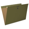 "Pendaflex Essentials Standard Green Hanging Folders - Legal - 8 1/2"" x 14"" Sheet Size - Standard Green - 25 / Box"