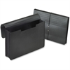"Pendaflex Expanding Portfolio - 5 1/4"" Folder Capacity - Legal - 8 1/2"" x 14"" Sheet Size - 5 1/4"" Expansion - Plastic - Black - 1 Each"