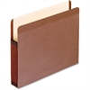"Pendaflex Recycled Vertical File Pocket - Legal - 8 1/2"" x 14"" Sheet Size - 5 1/4"" Expansion - Red Fiber - Red Fiber, Manila - 5 / Box"