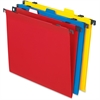 "Pendaflex 2-In-1 Poly Hanging/File Folders - Letter - 8 1/2"" x 11"" Sheet Size - Poly - Assorted - 10 / Pack"