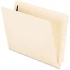 "Pendaflex Manila End Tab File Folder with Fastener - Letter - 8 1/2"" x 11"" Sheet Size - 3/4"" Expansion - 2 Fastener(s) - 2"" Fastener Capacity for Folder - 11 pt. Folder Thickness - Manila - Recycled -"
