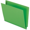 "Pendaflex Colored End Tab Folder with Fastener - Letter - 8 1/2"" x 11"" Sheet Size - 2 Fastener(s) - 2"" Fastener Capacity for Folder - 11 pt. Folder Thickness - Green - 50 / Box"