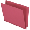 "Pendaflex Colored End Tab Folder with Fastener - Letter - 8 1/2"" x 11"" Sheet Size - 3/4"" Expansion - 2 Fastener(s) - 2"" Fastener Capacity for Folder - 11 pt. Folder Thickness - Red - 50 / Box"