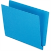 "Pendaflex Colored End Tab Folder - Letter - 8 1/2"" x 11"" Sheet Size - 3/4"" Expansion - 11 pt. Folder Thickness - Blue - 100 / Box"
