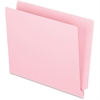 "Pendaflex End Tab File Folder - Letter - 8 1/2"" x 11"" Sheet Size - 3/4"" Expansion - 11 pt. Folder Thickness - Pink - 100 / Box"