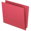 "Pendaflex Colored End Tab Folder - Letter - 8 1/2"" x 11"" Sheet Size - 11 pt. Folder Thickness - Red - 100 / Box"