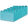 "Oxford A-Z Card Guide Set - Printed Tab(s) - Character - A-Z - 3"" Divider Width x 5"" Divider Length - Blue Pressboard Divider - 25 / Set"