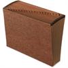 "Pendaflex A-Z Full Flap Expanding File - Letter - 8 1/2"" x 11"" Sheet Size - 21 Pocket(s) - Red Fiber - Recycled - 1 Each"