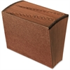"""Pendaflex Open-Top Daily Expanding File - Letter - 8 1/2"""" x 11"""" Sheet Size - 31 Pocket(s) - Red Fiber - Redrope - Recycled - 1 Each"""