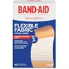 "Band-Aid Flexible Extra Large Bandage - 1.25"" x 4"" - 10/Box - Tan"