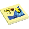 "Post-it Pop-up Notes, 3 in x 3 in, Canary Yellow - 100 - 3"" x 3"" - Square - 100 Sheets per Pad - Unruled - Canary Yellow - Paper - Pop-up, Self-adhesive, Refillable, Repositionable - 1 Pad"
