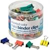 "OIC Metal Mini Binder Clips - Mini - 0.25"" Size Capacity - 1 / - Assorted - Metal"