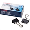 "OIC Binder Clip - Small - 0.8"" Width - 0.37"" Size Capacity - 12 Pack - Black"