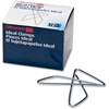 OIC Butterfly Clamps - Large - 12 Pack - Silver - Steel
