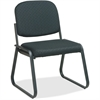 "Office Star V4420 Deluxe Sled Base Armless Chair - Black Seat - Black Frame - Sled Base - 19"" Seat Width x 19.50"" Seat Depth - 23"" Width x 2.5"" Depth x 32.5"" Height"