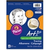 "Art1st Tracing Pad - 40 Sheets - Plain - 9"" x 12"" - Transparent Paper - 40 / Pad"