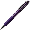 Pentel Twist-Erase III Mechanical Pencil - HB, #2 Lead Degree (Hardness) - 0.5 mm Lead Diameter - Refillable - Violet Lead - Violet Barrel - 1 Each