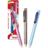 Pentel Clic Eraser Retractable Pen-Shaped Eraser - Lead Pencil Eraser - Refillable - Retractable, Non-abrasive - 1/Pack - White