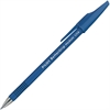 Better Grip Ballpoint Pen - Medium Point Type - 1 mm Point Size - Refillable - Blue - Blue Rubber, Rubber Barrel - 1 Dozen