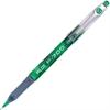 PRECISE P700 Fine Gel Rollerball Pen - Fine Point Type - 0.7 mm Point Size - Green Gel-based Ink - Green Barrel - 1 Dozen